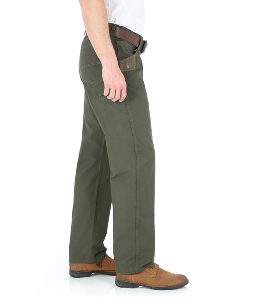 Wrangler Riggs Technician Work Pants in Loden at Dave's New York