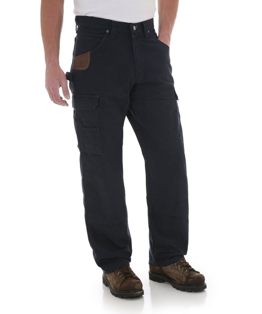 Wrangler Riggs Rip-Stop Ranger Work Pants - Navy at Dave's New York