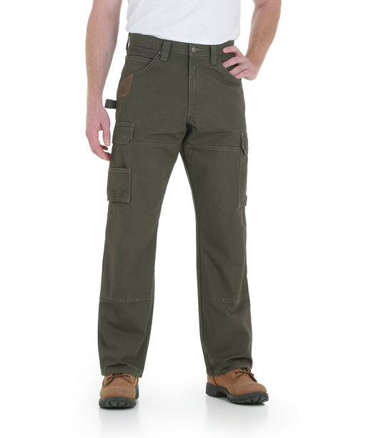 Wrangler Riggs Rip-Stop Ranger Work Pants - Loden at Dave's New York
