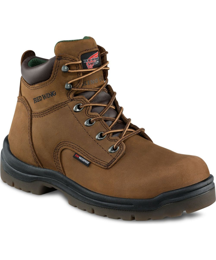 Red Wing Men's 6-inch Insulated Waterproof Work Boot (432) - Hazelnut