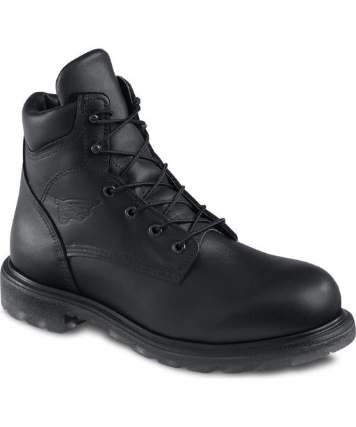 Red Wing Shoes Men's Work Boots (607) in Black at Dave's New York