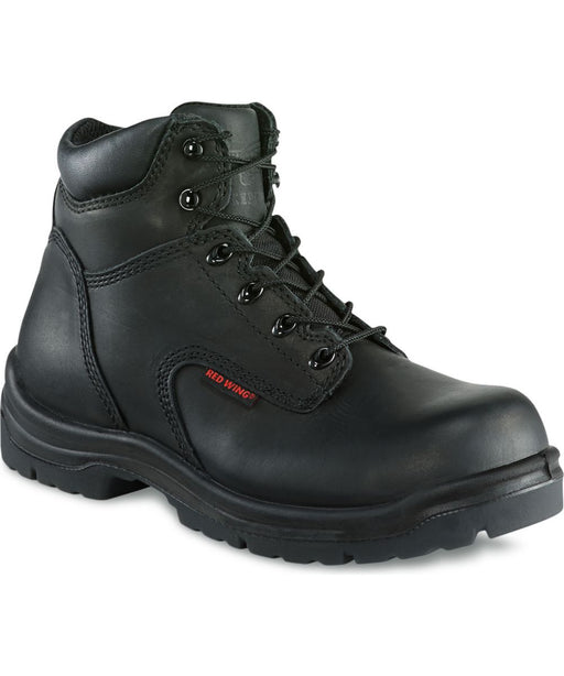 Red Wing Shoes Men's 6-inch Composite Toe Work Boots (2234) in Black at Dave's New York