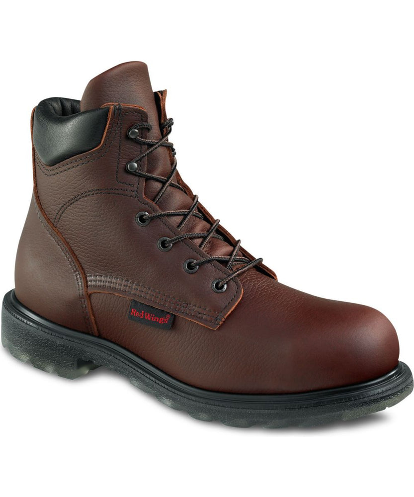 Red Wing Men's 6-inch Steel Toe Work Boot (2406) - Nutmeg