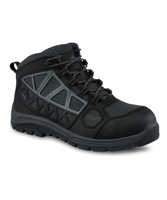 Red Wing Fuse FX Men's 6-inch Composite Toe, Waterproof (6601) - Black