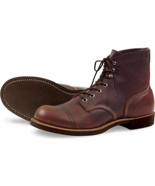 Red Wing Iron Ranger Heritage Boots – Model 8111 - Amber Harness