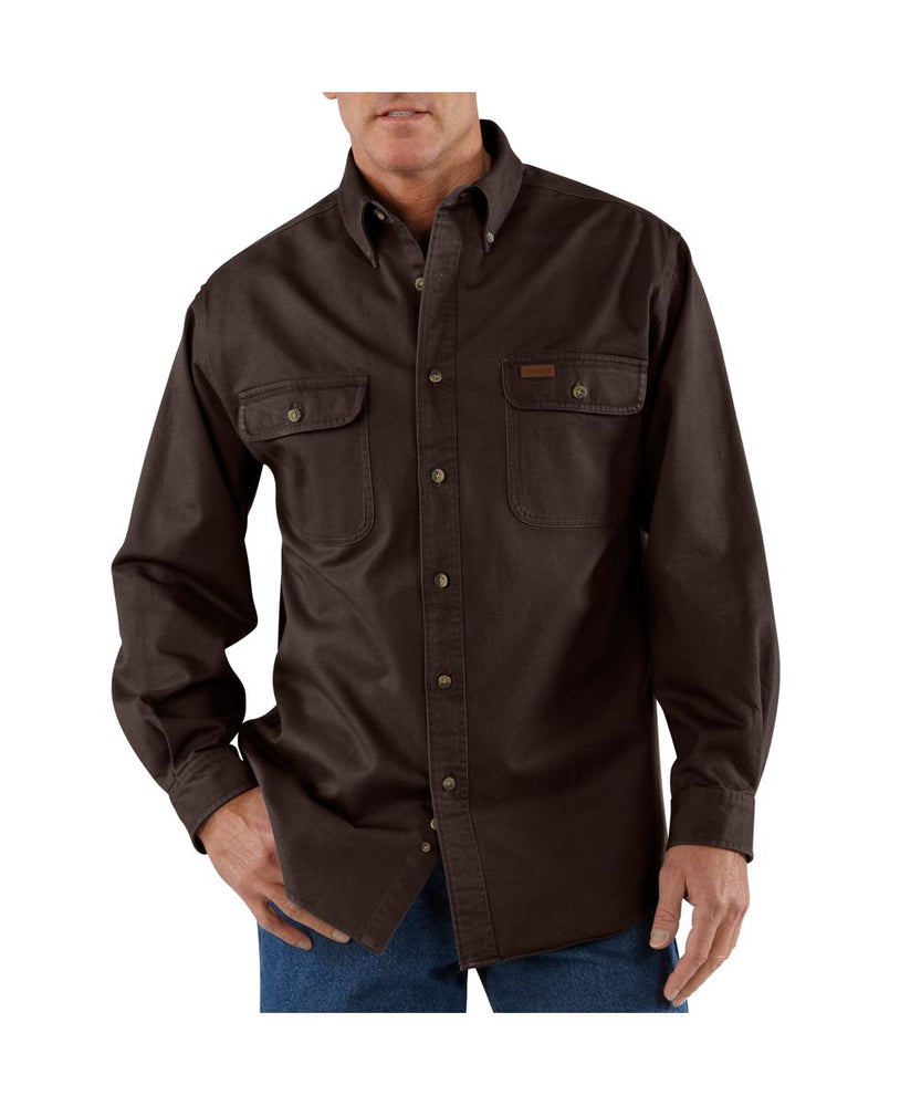 Carhartt Oakman Work Shirt – Dark Brown