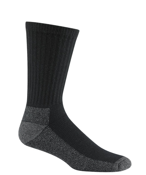 Wigwam At-Work Cotton Crew Socks (3 Pack) in Black at Dave's New York