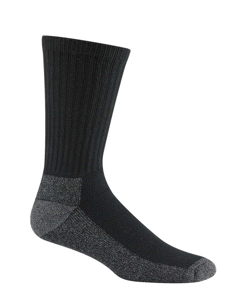 Wigwam At-Work Cotton Crew Socks (3 Pack)– Black