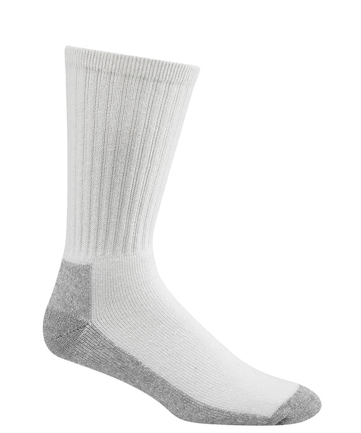 Wigwam At-Work Cotton Crew Socks (3 Pack) in White at Dave's New York
