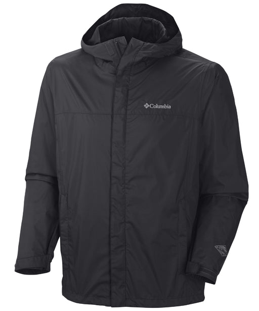 Columbia Men's Watertight™ II Waterproof Rain Jacket – Black