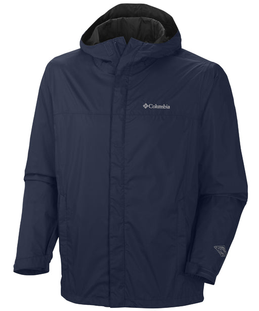 Columbia Men's Watertight™ II Waterproof Rain Jacket – Navy
