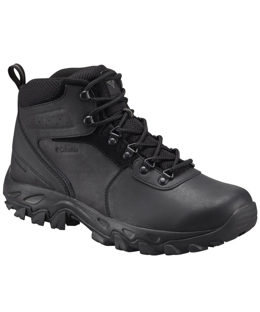 Columbia Men's Newton Ridge Plus II Waterproof Hiking Boots – Black