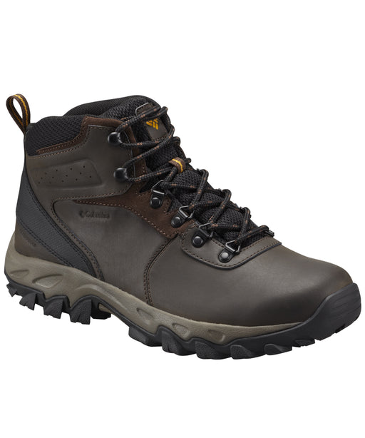 Columbia Men's Newton Ridge Plus II Waterproof Hiking Boots in Cordovan at Dave's New York