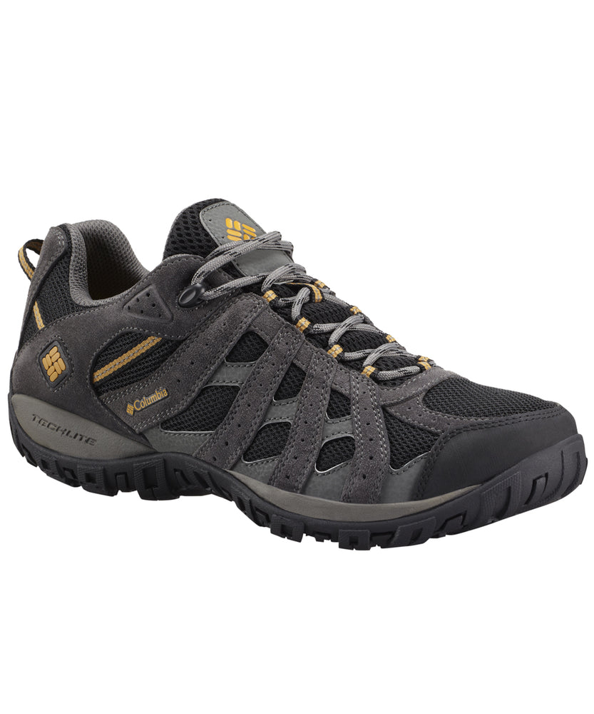 Columbia Men's Redmond Waterproof Sneakers in Black at Dave's New York