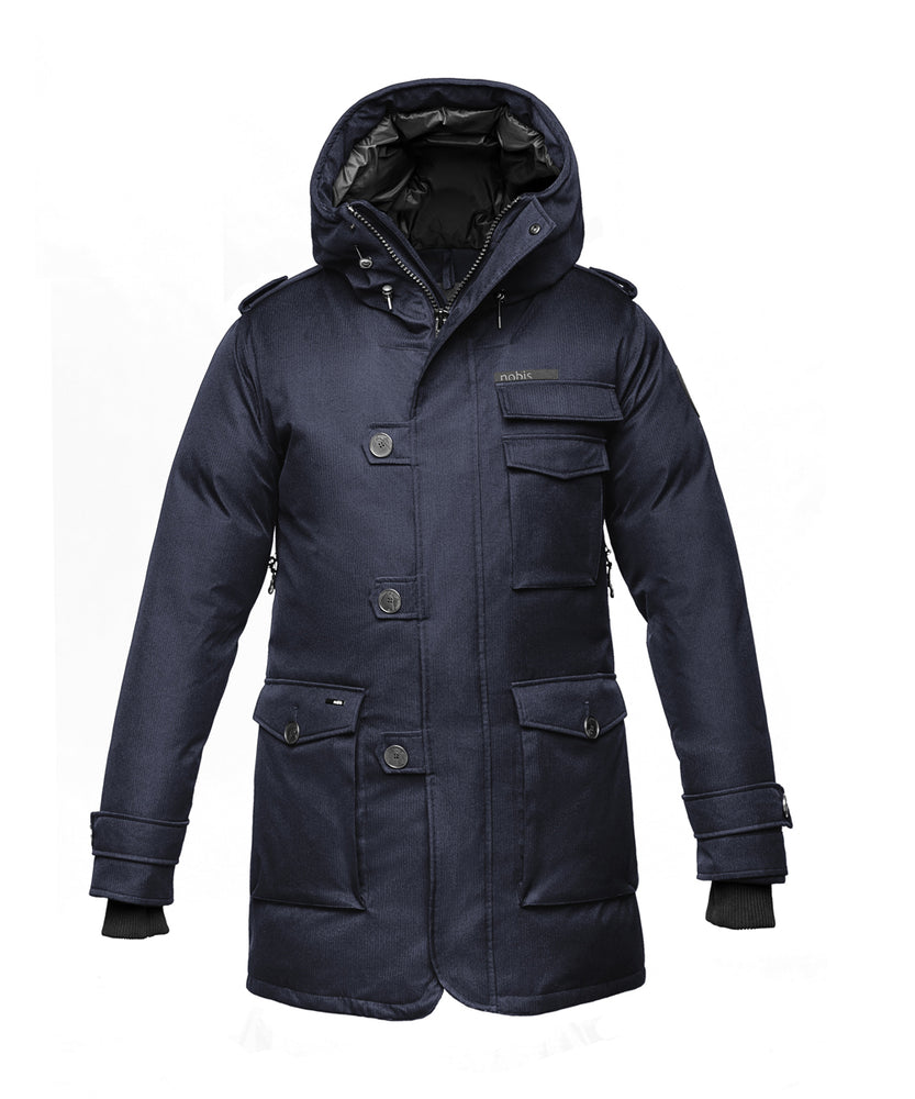 Nobis Men's The Shelby Military Parka - Navy