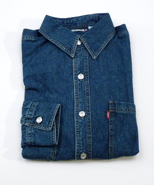 Levi's Men's Classic Denim Shirt in Authentic Stonewash at Dave's New York