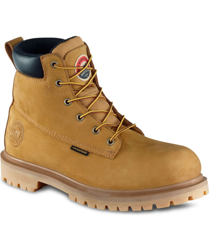 Irish Setter Men's Hopkins Work Boots in Wheat at Dave's New York