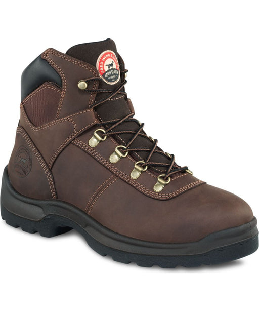 Irish Setter Men's Ely Waterproof Steel Toe Work Boots in Dark Brown at Dave's New York