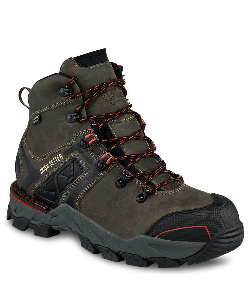 6d75bbe7350 Irish Setter Men's Crosby Safety Toe Waterproof Work Boots – 83628