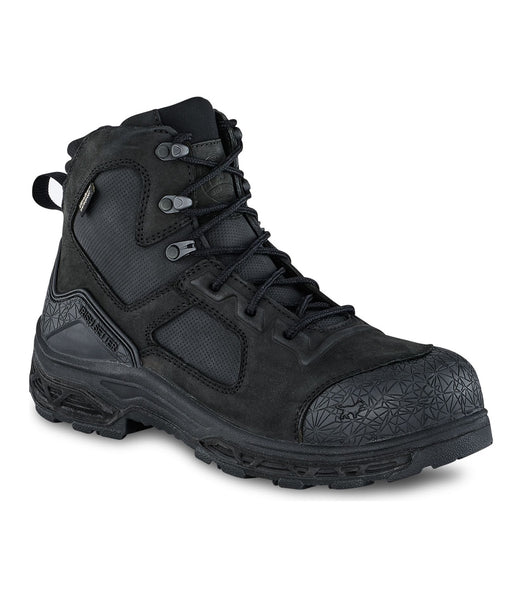 Irish Setter Men's Kasota Waterproof 6-inch, Composite Toe Work Boots in Black at Dave's New York