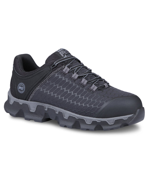 Timberland PRO Men's Powertrain Sport Alloy Safety Toe Work Sneaker – A176A in Black Ripstop Nylon at Dave's New York