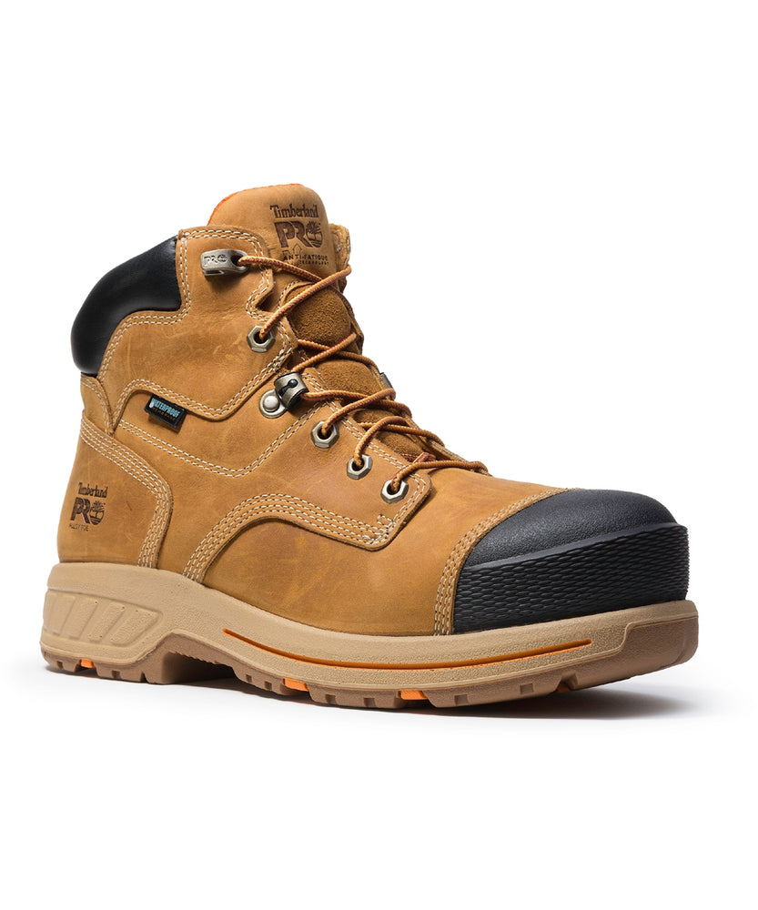 "Timberland PRO® Men's 6"" Helix HD Composite Toe Work Boots - Wheat"