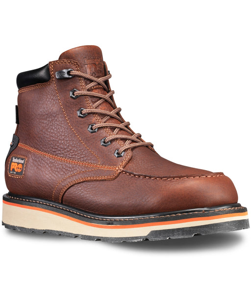 Timberland Pro Men's Gridworks Waterproof Work Boots in Brown at Dave's New York