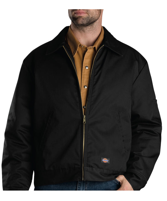Dickies Insulated Eisenhower Jacket in Black at Dave's New York