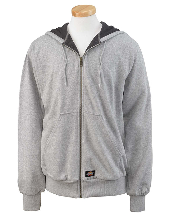 Dickies Thermal Lined Fleece Hoodie in Athletic Grey at Dave's New York
