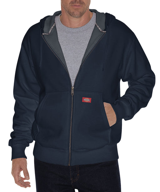 Dickies Thermal Lined Fleece Hoodie in Dark Navy at Dave's New York
