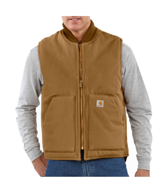 Carhatt V01 Duck Vest in Carhartt Brown at Dave's New York