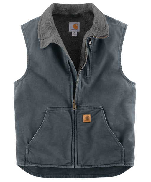 Carhartt V33 Mock Neck Vest - Gravel