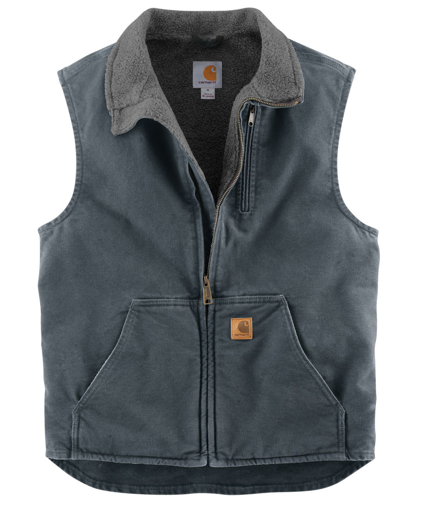Carhartt Mock Neck Vest - Gravel
