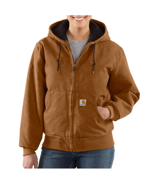 Carhartt Women's Sandstone Active Jacket (WJ130) – Carhartt Brown
