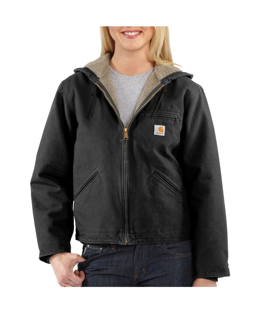 Carhartt Women's Sandstone Sierra Jacket in Black at Dave's New York