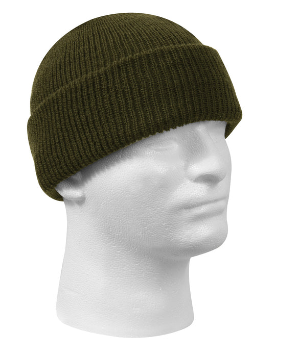 Rothco Genuine G.I. Wool Watch Cap in Olive Drab Green at Dave's New York