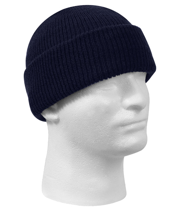 Rothco Genuine G.I. Wool Watch Cap in Navy at Dave's New York
