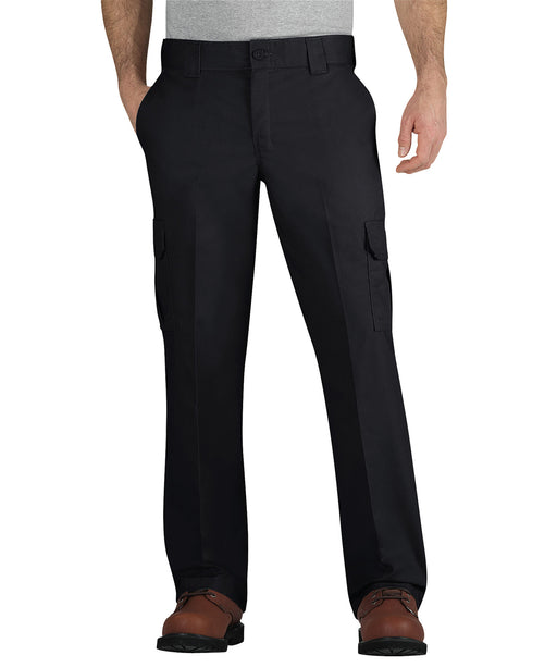 Dickies WP595 Regular Fit Twill Cargo Pant in Black at Dave's New York