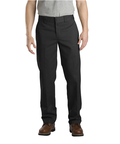 Dickies Slim Fit Work Pants in Black at Dave's New York