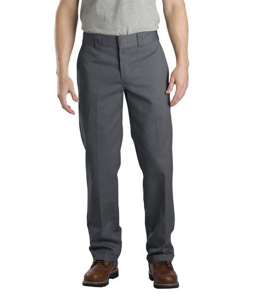 Dickies Slim Fit Work Pants in Charcoal at Dave's New York