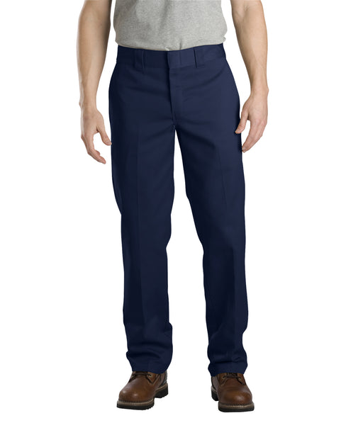 Dickies Slim Fit Work Pants in Dark Navy at Dave's New York