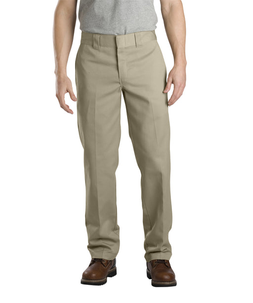 Dickies Slim Fit Work Pants in Khaki at Dave's New York