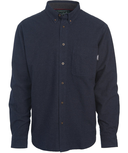 Woolrich Men's Sportsman Chamois Shirt (model 6109) – Dark Navy Heather