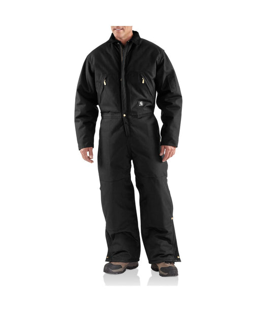 Carhartt Men's Extreme Yukon Coverall in Black at Dave's New York