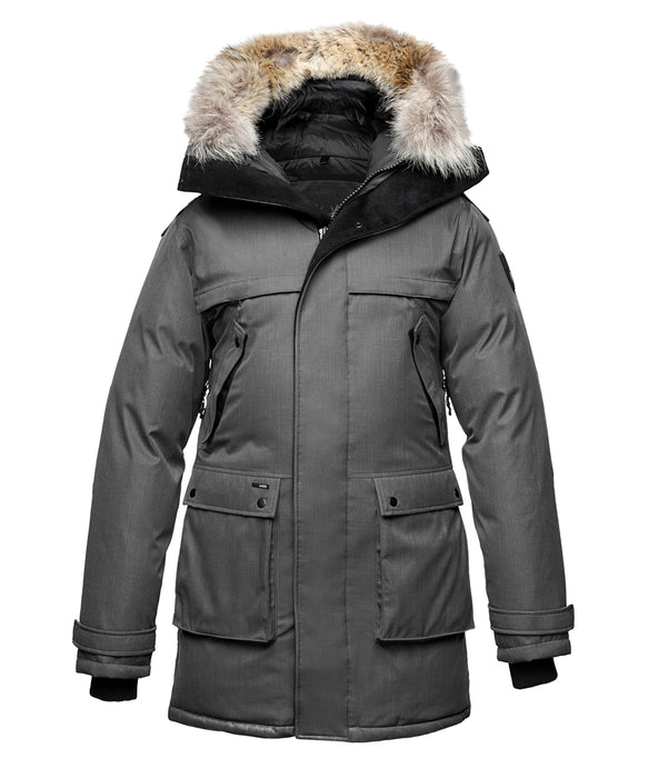 Nobis Yatesy Men's Parka - Steel Grey
