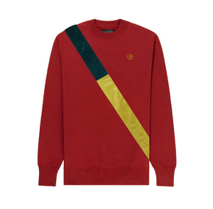 BOG - HLD20 - RED VELVET STRIPE Crewneck Sweater