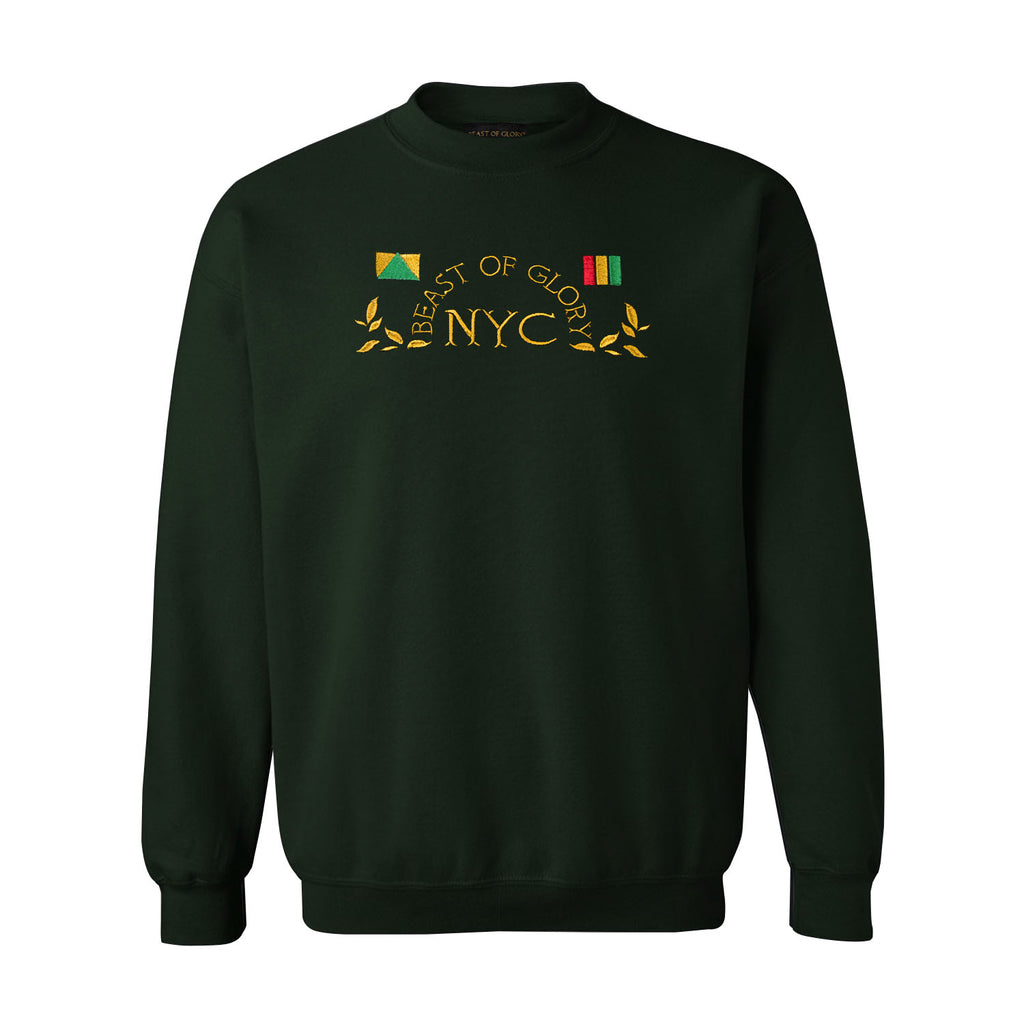 NYC LEAF SWEATER