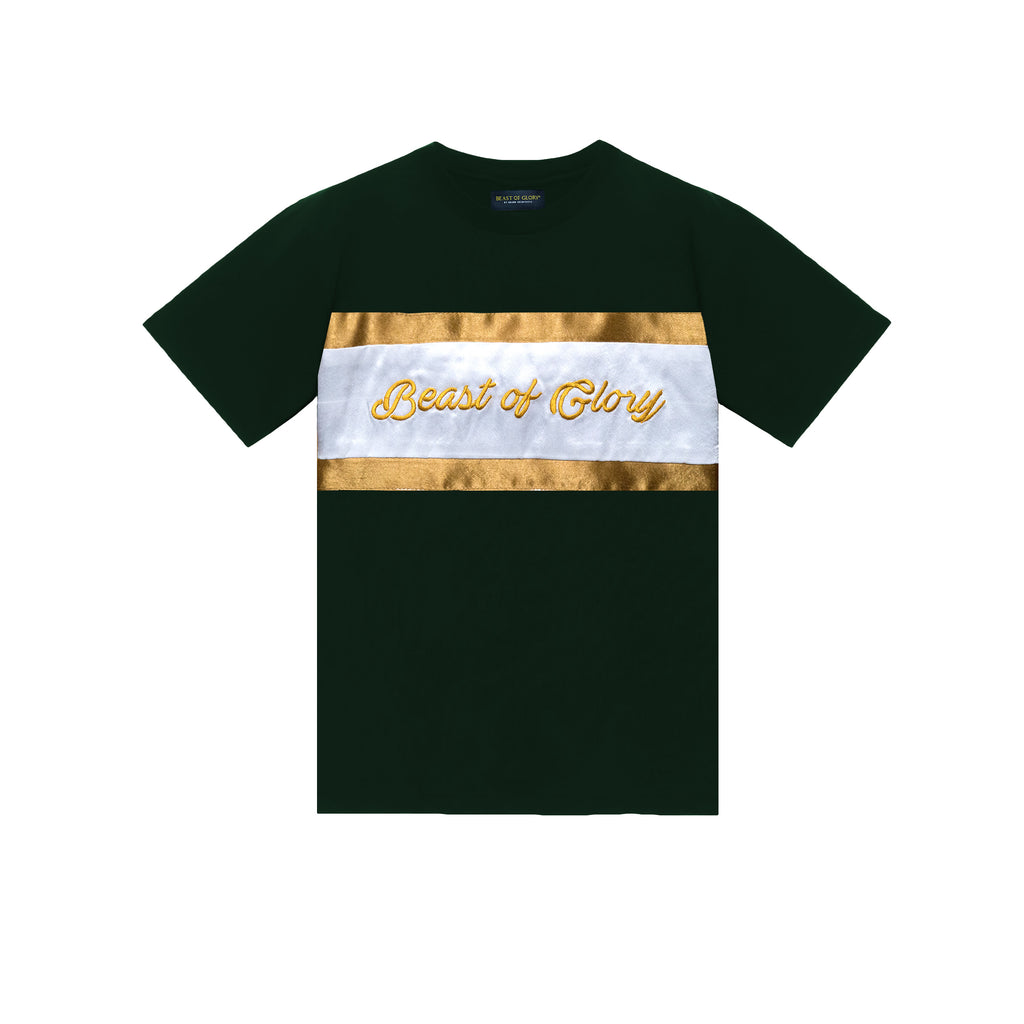 HORIZONS TEE  FOREST GREEN