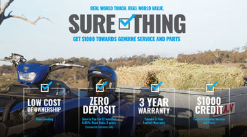 Yamaha Sure Thing - limited Offer
