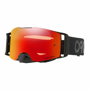 Oakley Front Line - Factory Pilot Blackout MX Goggles with Prizm Torch Iridium Lens